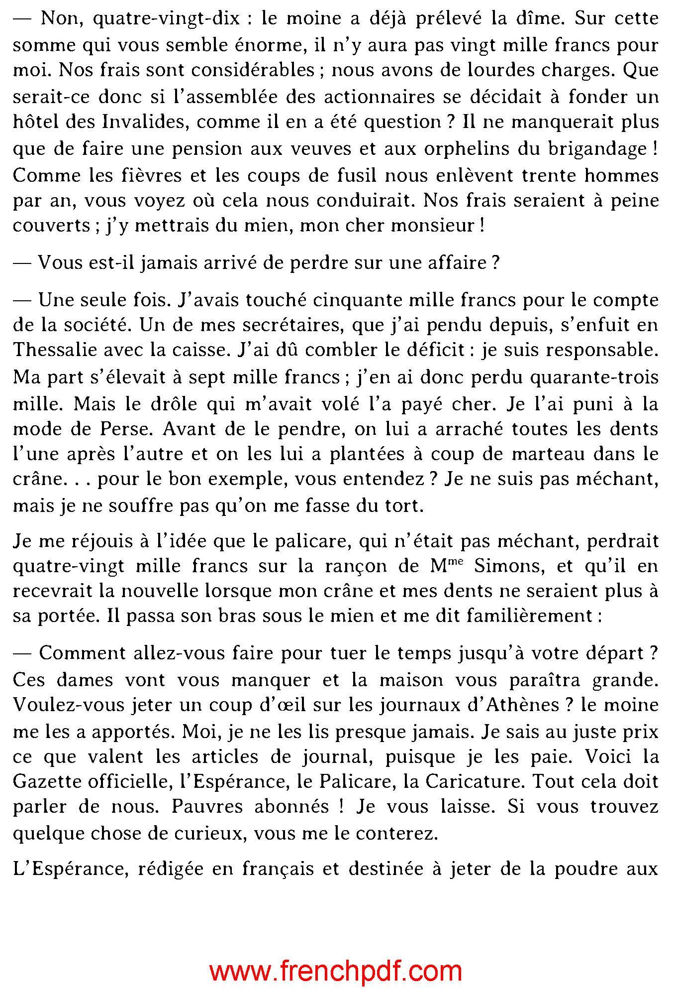 Le roi des montagnes PDF de Edmond About 4