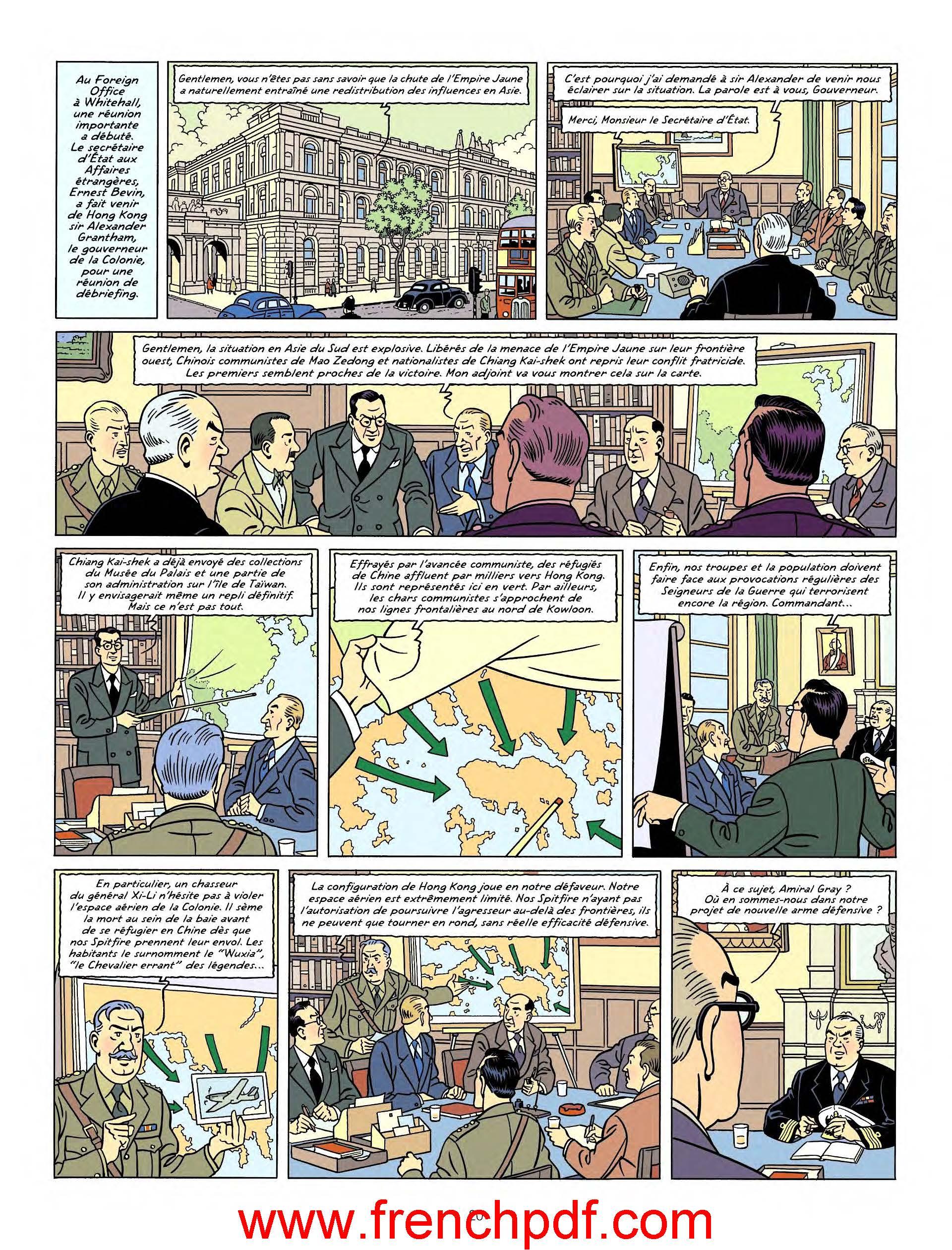 Blake et Mortimer - T25: La vallée des Immortels PDF 4