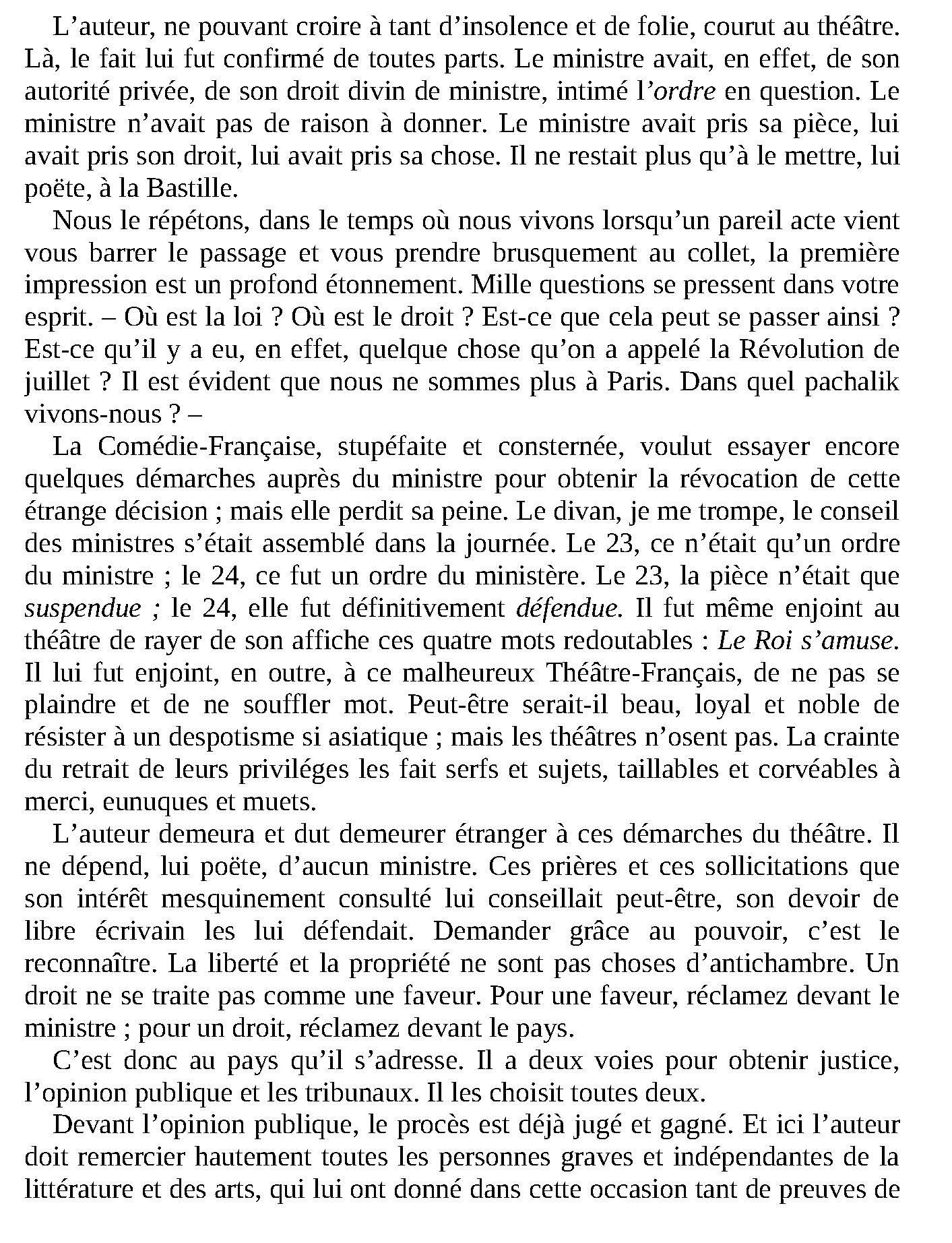 Livre numérique: Le roi s'amuse de Victor Hugo pdf 3