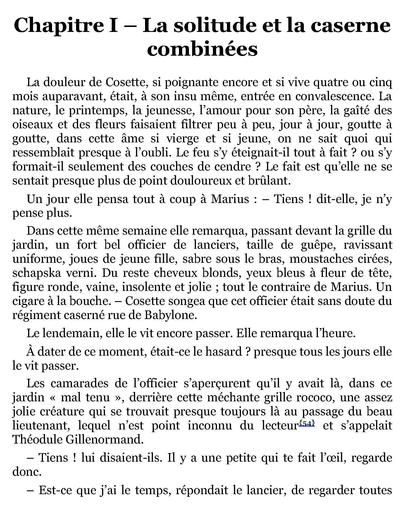 Les Misérables - Tome 4 L'Idylle rue de Victor Hugo en pdf 2