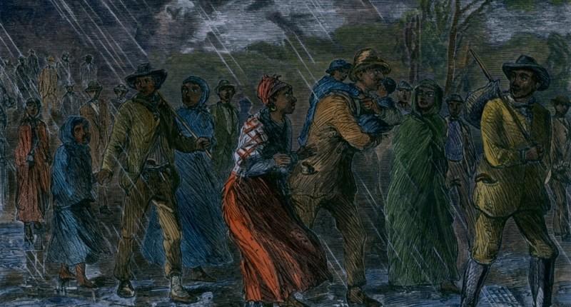 Etats-Unis: Les plaies de l'esclavage - Le chemin de fer clandestin 5