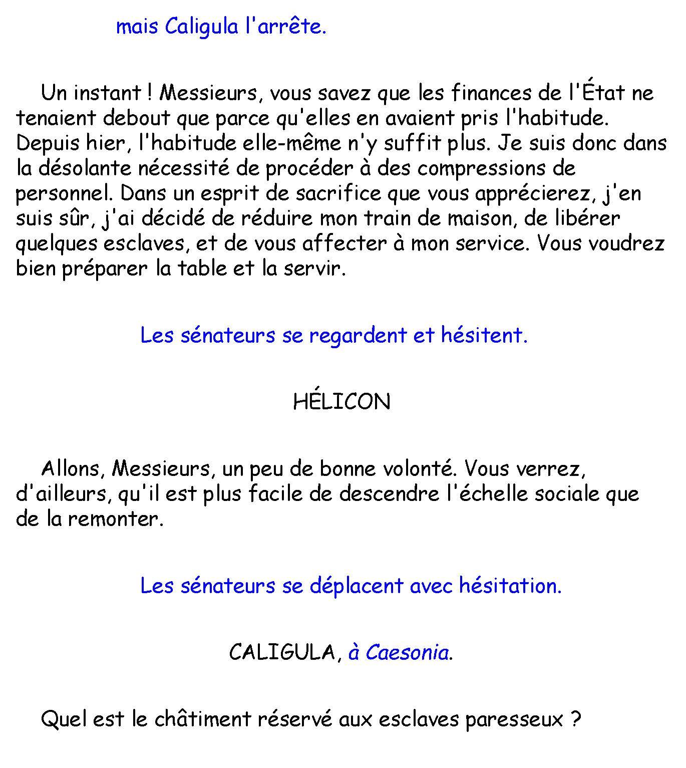 Caligula d'Albert Camus PDF Gratuit 2