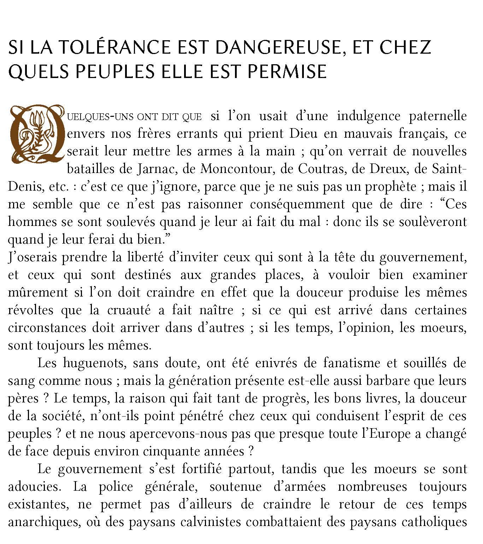 Traité sur la tolérance en PDF de Voltaire, livre en ligne 2