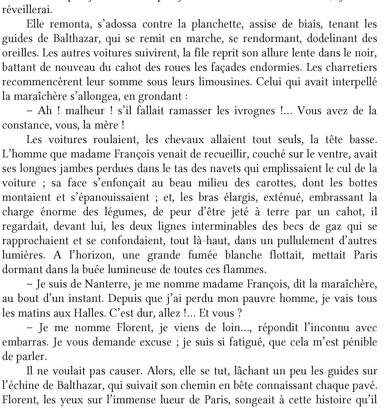 Le ventre de Paris d'Émile Zola, livre en ligne 4
