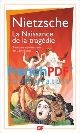La Naissance de la Tragédie PDF de F. Nietzsche 1871 1