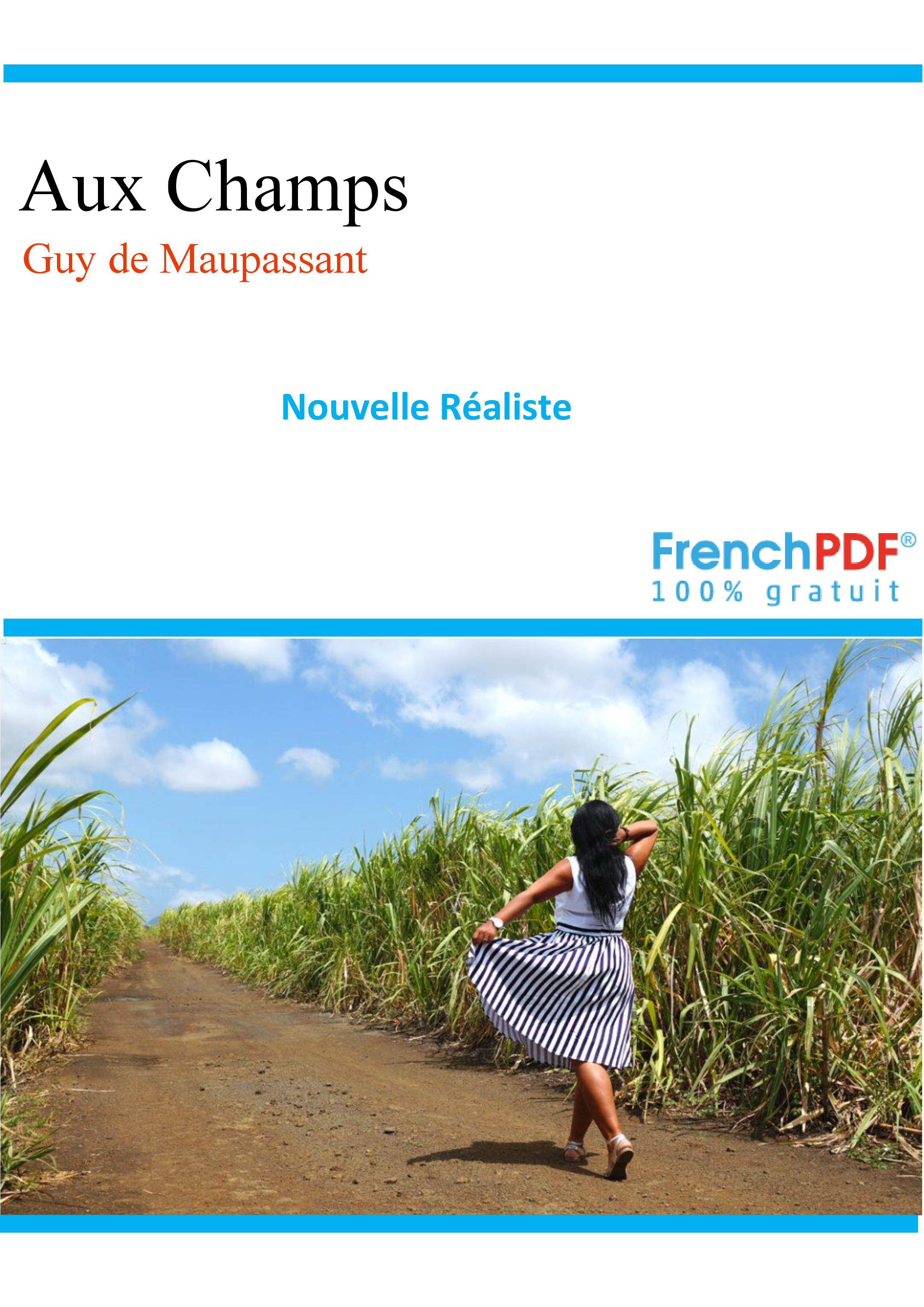 Aux Champs - Maupassant - frenchpdf.com