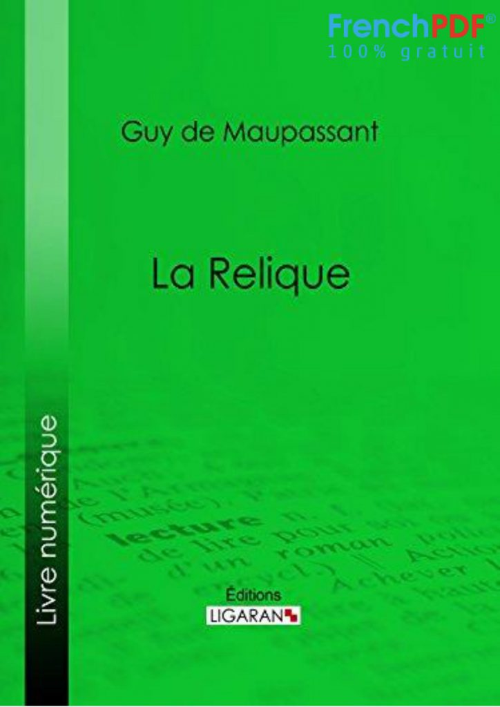 La Relique PDF - Maupassant - FrenchPDF.com