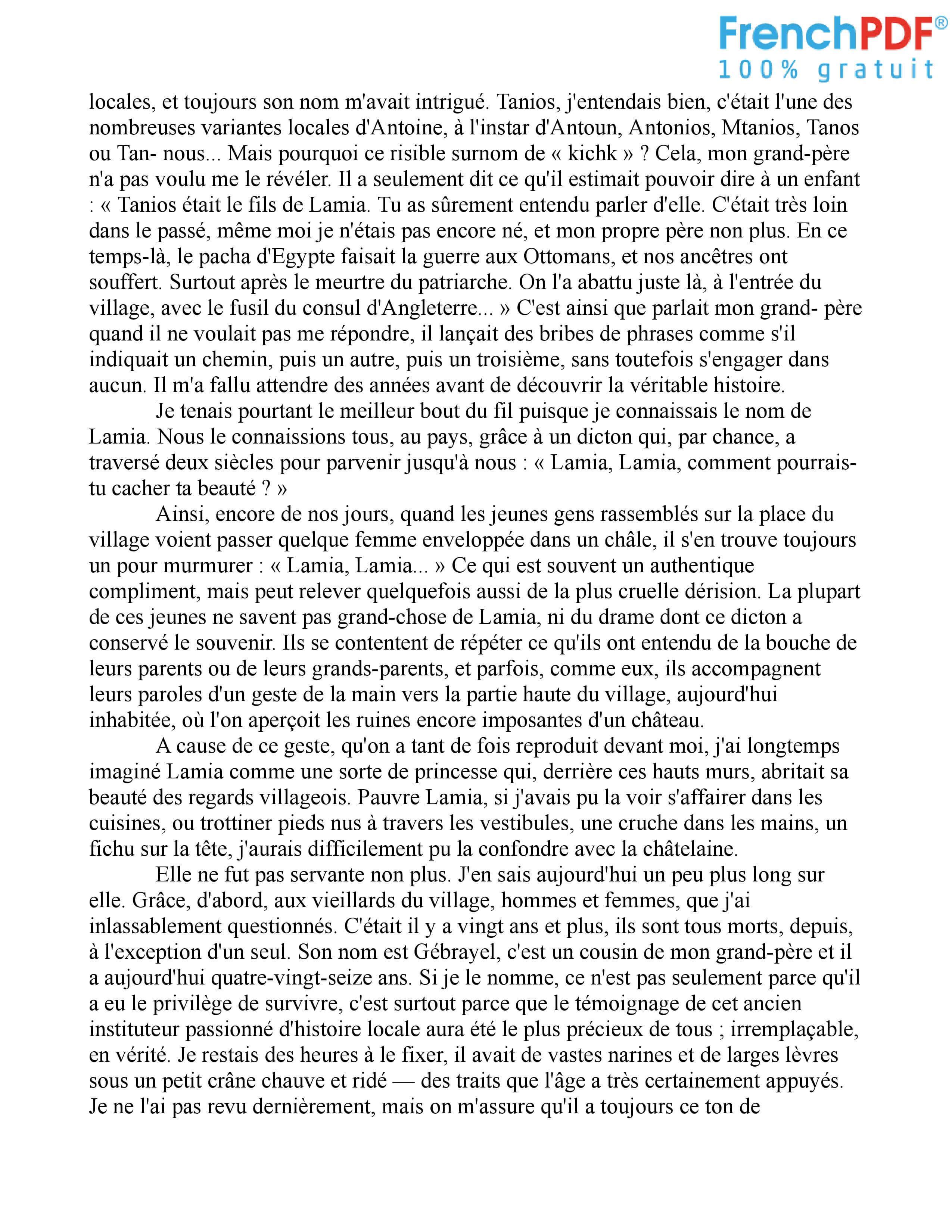 Le Rocher de Tanios PDF 2