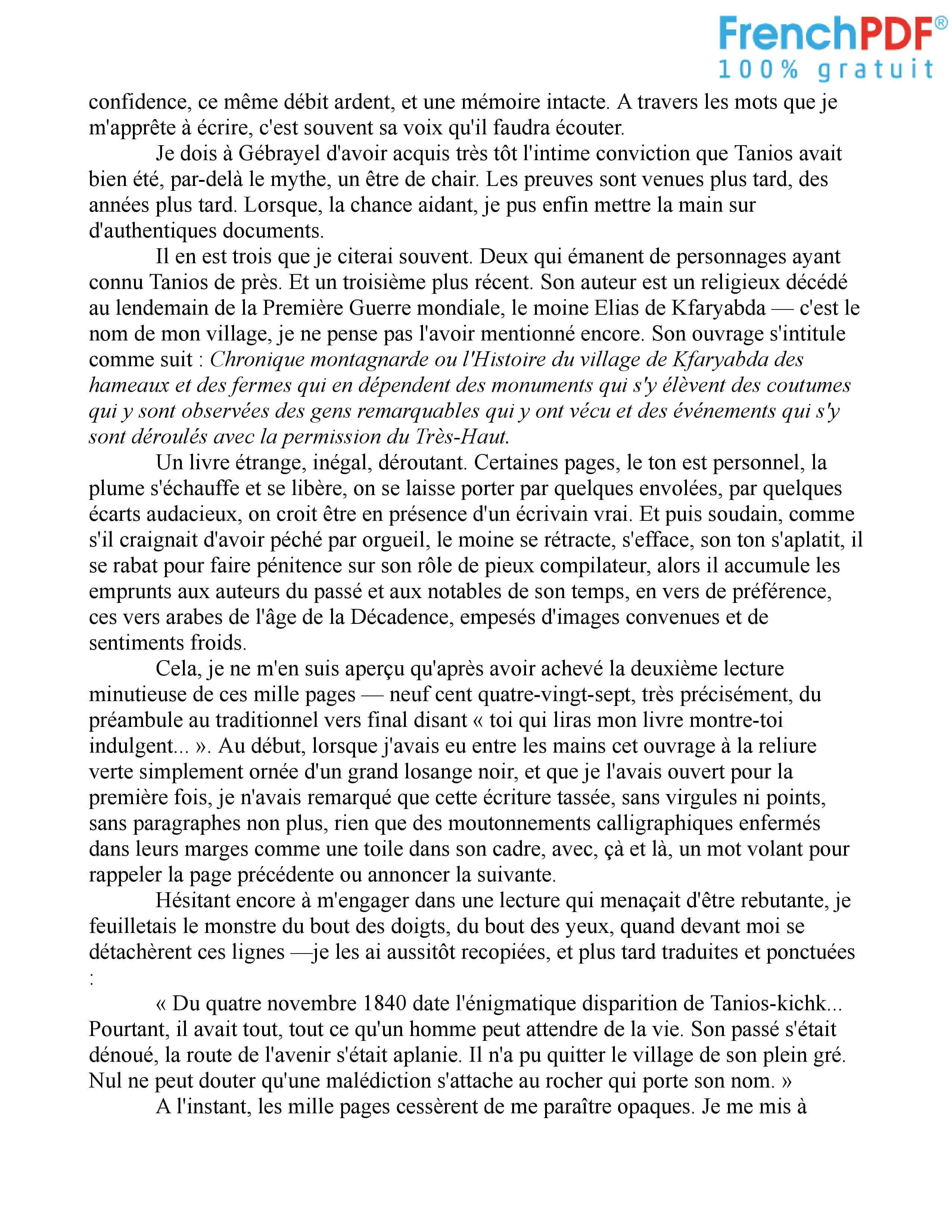Le Rocher de Tanios PDF 3