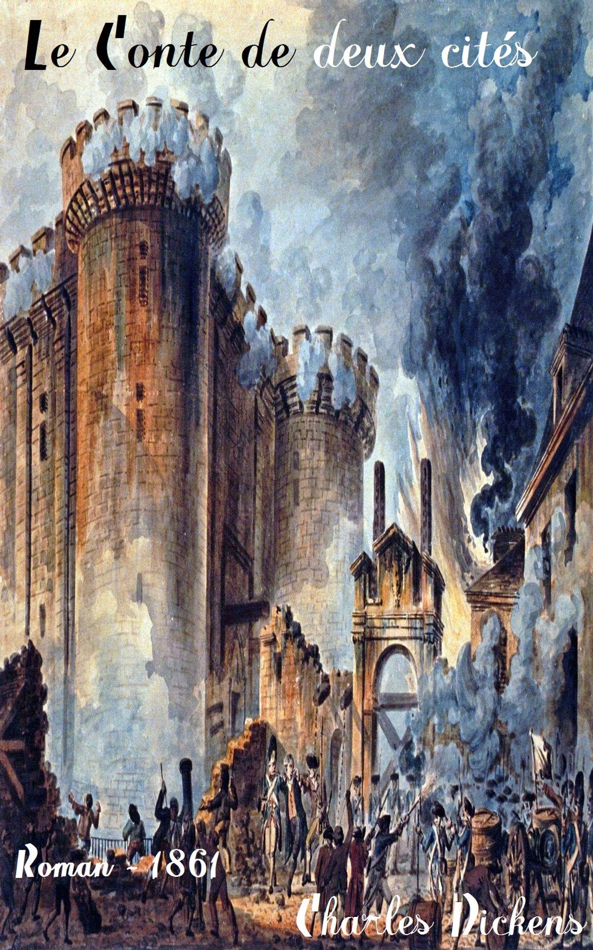 Le Conte de Deux Cités PDF - Charles Dickens- Un conte de deux villes pdf